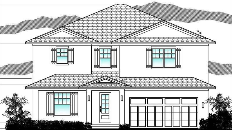 Under Construction.  New home currently being built in Virginia Park with expected completion by the end of June.  Current plans call for 5 Bedrooms & 4 Bathrooms with 3,534 square feet of living space.  1st Floor features include Guest Suite with attached Full Bath leading out to Covered Lanai, Kitchen w/ Breakfast Bar and Island overlooking Great Room, and Dining Room just off the kitchen.  Spacious master suite is located upstairs with his & hers walk-in closets and large master bath featuring double sinks w/ vanity area, large walk in shower and free standing tub.  Additional 3 bedrooms are also on the 2nd floor, one with its own en suite bath.  Additional Jack and Jill bath is shared by the other rooms.