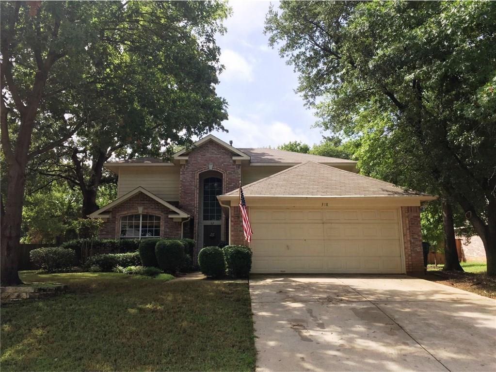 318 Georgian Oak Court, Lake Dallas, TX 75065
