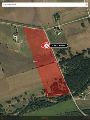 34-acre lot cut out of the historic R5 Ranch on the San Gabriel River. Amazing panoramic views, Just 12 miles from Downtown Georgetown. Gently sloping and with a multitude of established trees, this lot has several building sites and generous topography. The community is equestrian friendly! Award-winning Georgetown schools just right down the road. All the pieces are here to build your country dream home. The property has prime San Gabriel riverfront, hwy 29 and CR 366 access. NO HOA/restrictions.