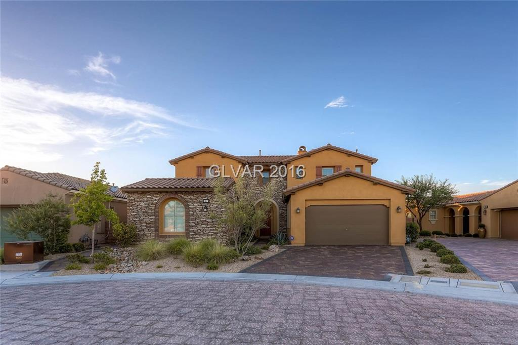 Opportunity knocks!! Lake Las Vegas Resort view home...great investment opportunity. Tenant in place.