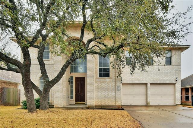 Very well maintained home in the Lakeline Oaks area. Recently updated with fresh paint, wood flooring, carpet, granite counter tops in the kitchen and baths, under mount sinks with updated faucets in the kitchen and baths. Range, dishwasher and microwave have also been updated with stainless steel appliances. You're minutes from Nauman Elementary a mile from Cedar Park MS and only 1.6 miles from Cedar Park HS. Churches, parks, shopping at Lakeline Mall, dining, C-stores, medical are all close by.