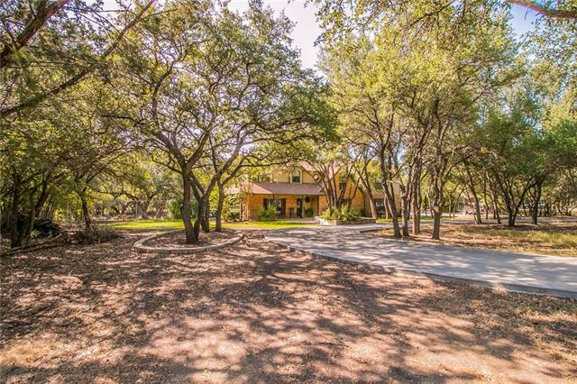 Hidden gem close to Austin! Beautiful renovated home on private 3.47 Acres w/ fenced pool/spa. 2 Masters, 5 BRs, 4 .5 Bths, Family, Movie, Game Rms, 2 offices or 1 office w/ his & her closets. Gorgeous Open kitchen/dining/living with lots of natural light. Stunning Wood Floors, Granite/Marble. Central vacuum, sprinkler system, home/pool automation + more. 3 car garage w/ additional garage. Perfect location, excellent schools with lots of space for horses, chickens + more.