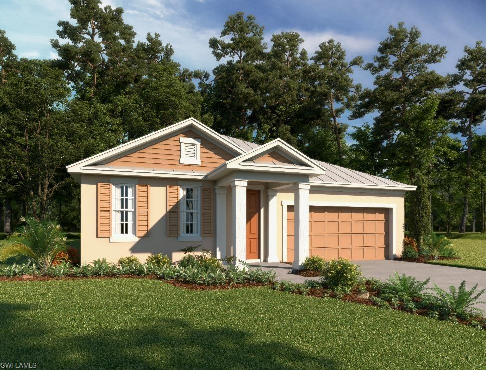 "This new construction, Ashton Woods home has 4 bedrooms, 3 baths and an extended outdoor lanai overlooking the serene lake in the rear of the home. Enjoy the natural light beaming throughout the home due to the many windows included in this ""Bari Floorplan"". The home is designed with a beautiful open kitchen overlooking the spacious living and dining areas. The kitchen has wrap around upgraded cabinetry featuring a sizeable island, the perfect place to enjoy a casual meal.  You can easily access the extended outdoor living from your living room via a wall of sliding glass doors, a fabulous place to relax and enjoy the beautiful Florida winters. Naples Reserve boasts some of the most luxurious amenities in the area. Residents can enjoy a spectacular lakeside clubhouse with café and state of the are fitness center, boating, paddle-boarding, kayaking and other watersports on the 125 acre recreational lake. There are tennis courts, pickleball courts, bocce ball, beach volleyball and miles of walking and biking trails. Have a pet, Naples Reserve is pet friendly with two dog parks. This is your opportunity to live the ultimate Florida lifestyle!"