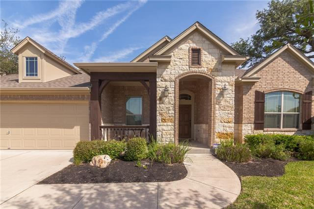 Its Time to Entertain!!! This Incredible Meticulously Maintained Property was Professionally decorated with Interior Brick accents and upgrades Galore! Granite, Downdraft Gas Cooktop, 3 Bedrooms, Mater on Main, Office, Breakfast sitting area, Main Level Game/Play Area, Gameroom upstairs! Greenbelt property with Covered patio and additional decked area for outside entertaining.