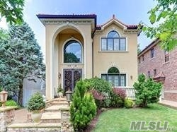 Mediterranean Style In The Heart Of Little Neck Hills! State Of The Art Designer Showplace Built With The Finest Quality Materials/Craftsmanship. Make This Unique Property Your Dream Home !