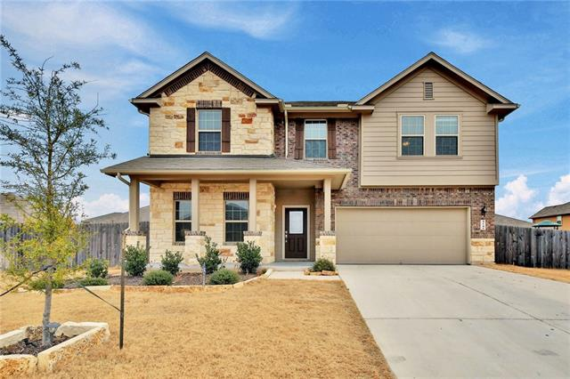 Home built in 2015.  The Rockport plan is roomy with a Formal Living and Formal Dining with family room open to kitchen.  Granite counters and tile backsplah.  All 4 bedrooms are up with launder and 2 full baths.  Master has a huge walk in closet.  Bonus room upstairs for all to enjoy.