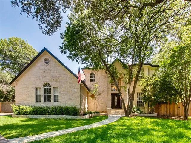Custom home on quiet, .6-acre lot. Only inside cul-de-sac off of Cedar Crest Circle (highly sought-after area) New paint & carpet. Boat/RV storage, 600sf. walk-in storage (in add. to living space) HUGE kitchen w/granite countertops & double-oven. Main master suite down; 2 master suites & 2 bedrooms up along w/ game rm w/ wet bar & bonus rm. XL 3-car garage. Built-ins galore in garage, study, bathrooms, & downstairs family rm. Approx. 800sf of decking with prewired area for hot tub. Balcony 200sf.