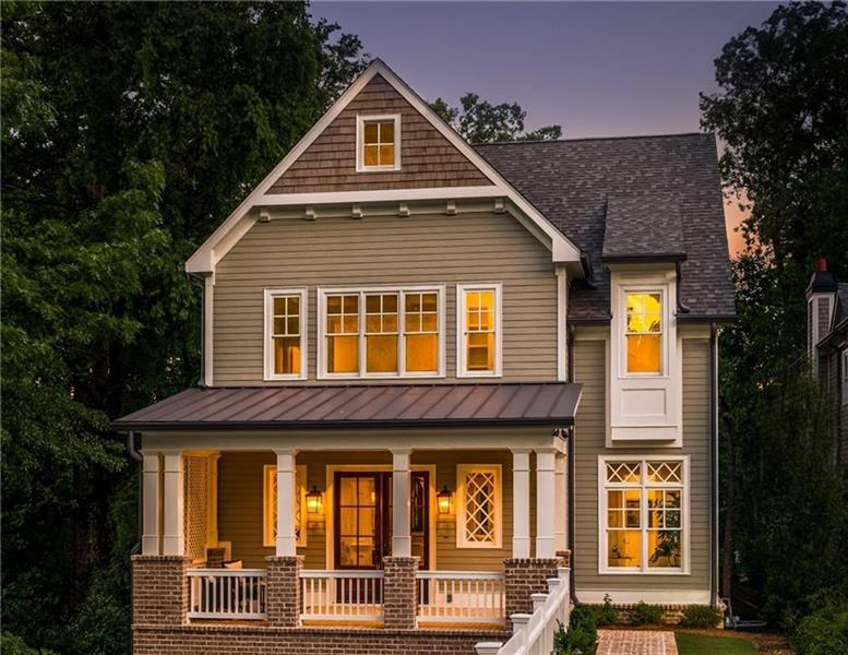 Spectacular new construction in Atlanta's most desirable location just minutes from Chastain Park. Walk to all the Park's amenities - little league fields and basketball gym, playground, pool, stables, tennis and beautiful golf course.Built by one of Atlanta's most outstanding builders known for exceptional quality, this home is amazing. Gorgeous master suite overlooks the beautiful yard and pool.Main floor has a wonderful covered porch off the kitchen/family room. 4 car garage and terrace level opens to a wonderful private yard with beautiful pool. Absolutely perfect!!