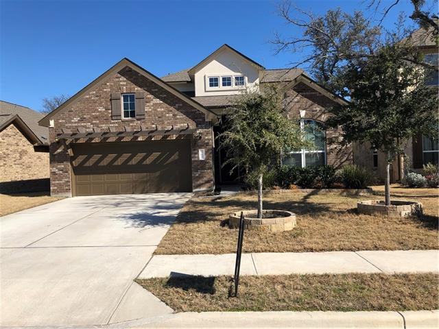 Gorgeous home in sought after Ranch at Brushy Creek community, 4 bedrooms plus 3 baths downstairs with a living/game room and full bath upstairs make this perfect home.  Large kitchen with granite counters opens to family room. Close to major employers and roads.  Excellent RRISD schools.