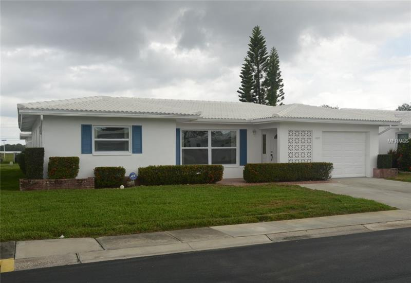 """Back on the Market, buyer's financing fell through. Beautiful 2 bedroom, 2 Bath, 1 car garage """"Eden"""" Single Family Home, completely updated and is """"MOVE-IN READY"""". UPDATES INCLUDE: Bathrooms have been renovated with Tile, Vanities, Medicine Cabinets & Lighting. Kitchen has 36"""" Wood Cabinets, Quartz Counter Tops, Stainless Steel Appliances (Side by Side Fridge with Ice and Water in the door, Glass Top Electric Range, Dish Washer and Microwave) & recessed lighting. Thermal Dual Pane Vinyl Windows throughout all of the living areas. Porcelain Tile Flooring in living, dining, kitchen, hall, & Florida room. Carpet in both bedrooms. Bedroom, Bathroom, & Closet Doors upgraded to modern Six Panel Doors. 5"""" Baseboard throughout. Crown Molding in living and dining rooms and Fresh Paint throughout.  The Eden model has many standard features, oversized living room, walk in master closet, two large 2nd bedroom closets, separate laundry area in the garage, large model Fla. Room with 8' ceilings. The $336.00 monthly Condo Maintenance Fee includes exterior painting, lawn care, irrigation, water/sewer/trash, digital cable w/one cable box and roof repair and replacement (NEW tile roof Jan 2017) The Mainlands Of Tamarac by the Gulf Community is a wonderful 55+ Older community of approx 2000 homes surrounding a Public Golf Course with 7 different units. This home is located in Unit 4 of Mainlands with clubhouse and heated pool. Unit 4 allows 2 pets (cats & dogs) up to 35 lbs max."""
