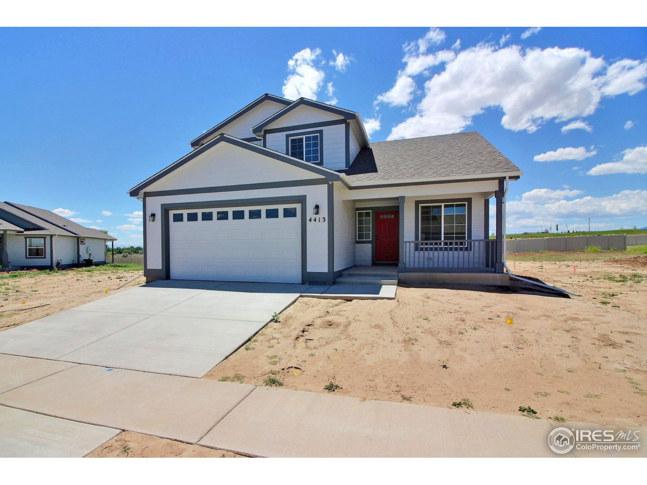 New construction two story with 1757 square ft. This home offers A/C, stainless steel appliances, tankless water heater, granite counters, engineered wood floor, garage door openers and much more. Set you showing up today! Pictures are like a house previously built. $5000.00 builder incentive is available if the buyer's use Tom Beck at Cornerstone. Home will be ready in October.