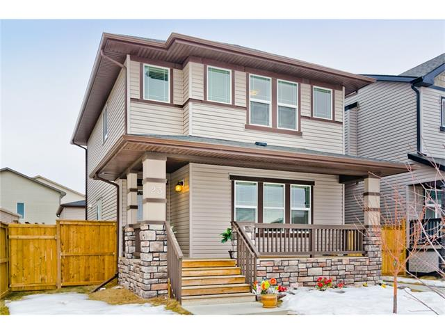BACK IN MARKET, 2013 Built 1536 SqFt (3BR/2.5WR) DETACHED HOME ON BIGGER LOT IN SKYVIEW+PRIME Location+2BR/1WR illegal Basement SUITE W/ Separate Entrance+Oversized Double Detached Garage with 2 Doors/Windows + Huge Backyard with Deck+Across the Greenspace/Pond with Nice View+Very Close to Transit & New School in Skyview, & all of these under $450K…Amazing Deal for 1st time Buyer or Investors. The seller will install the BRAND NEW CARPET through out the house before closing date. The home has many upgrades including SS Appliances with separate Laundries, 9' Ceiling on Main, Granite Countertops, Lighting fixtures, Flooring, Central Vac & Garburator Rough-ins, Concrete walkways. The home is very close School, Playgrounds, Transit,5 Mins drive to YYC, major highways & Crossiron Mall. Pics are older and Currently the home is tenant occupied. During viewing please disregard the unorganized personal items but the home will be professionally cleaned before new buyer's move-in date. Quick closing option possible.