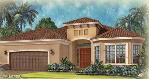Under Construction - The Pallazio is a 2,929 sq. ft. single-family home that is built for grand entertaining or comfortable, casual living. The foyer leads to a den, dining area and spacious great room. A designer kitchen with over-sized island has sliding door entrance to a large covered lanai. The Master Suite includes dual shower seats and sinks, water closet, and large walk-in closet. Photos of Model. Ready in August.