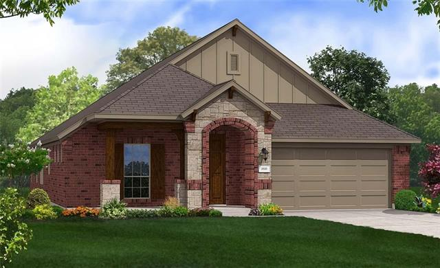 One Story Laurel Plan featuring private study with french doors, open family space, enlarged master shower with seat, and 3' extension to master bedroom and study. Granite Countertops, Custom Tile Backsplash, Covered Back Patio, Full Sprinkler/Sod in Front & Rear Yards. See Agent for Details on Finish Out. Available Mid July.