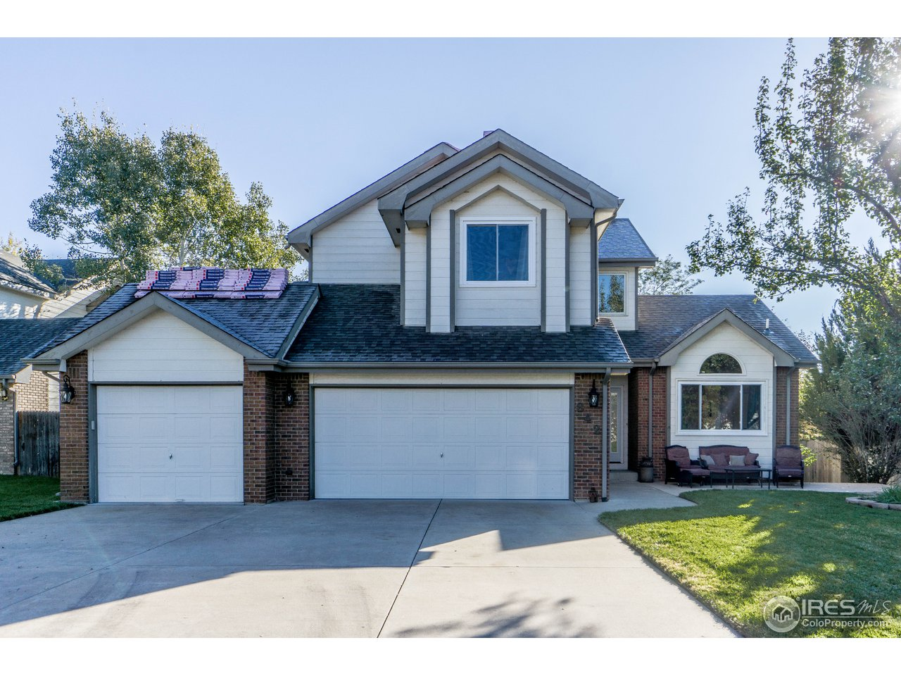 This gorgeous home with updates including  new bath, basement carpet, patio in back, windows with a lifetime transferable warranty and a newly finished basement.  Large private back yard with privacy fence and patio on the east side. The home sits on a quiet street and is close to amazing walking trails. The location of this neighborhood offers views ,easy access, mountain views and proximity to shopping and eateries.