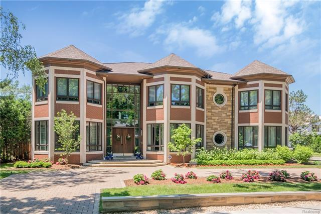 Nestled in the heart of Birmingham, this award-winning contemporary design boasts an abundance of elegance and sophistication. Completed in 2015, this 6,464 sqft home sits on a 1/3 acre corner lot in prestigious Quarton Lakes Estates. Impress guests with 5 suite style bedrooms, 6 full baths, and custom finishes throughout, including a limited edition Swarovski crystal fireplace and double island with crystal pendants. A 3,000 sqft finished basement with theatre, onyx bar with LED lights, and wine room provides additional space for entertaining. Nominated for a 2017 Kitchen Design Award, a stunning gourmet kitchen boasts 2 sub-zero fridges, 6 burner Viking gas stove, 2 Bosch dishwashers, 2 built-in Wolf ovens, wine fridge, and built-in Miele coffee maker. Enjoy a lavish lifestyle in this truly one-of-a-kind home.