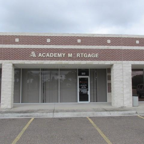 Professional use center with businesses, offices, retail and doctor offices. High visibility with a high traffic count.  Beautiful landscaping, common areas, and ample parking.  Located close to Nolana and Renaissance Hospital.  1,701 sqft. includes 5 offices, kitchen areas, storage room, 2 separate restrooms, reception area and waiting room.   Move in ready and no improvements are needed.  Move your business here!  Water, Sewer & Garbage included in Rent.