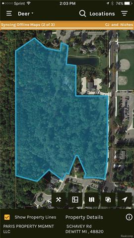 19.5 acres of prime wooded land located in a highly visible and desirable part of Dewitt. Situated between two existing subdivisions where the average homes sell for $400,000 to $500,000. Existing water and sewer. SPLITS ARE AVAILABLE! Located near Schavey Elementary School and Dewitt High School. 5 miles from Capitol City Airport. There is also a brand new biking, hiking and jogging trail on the property. Padgett Park Nature Center is close by as well. ***LAND CONTRACT IS AVAILABLE***
