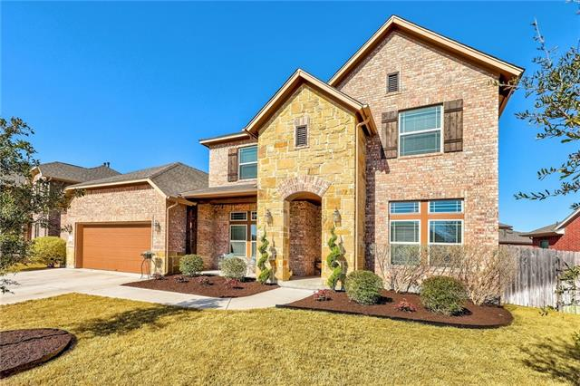 David Weekly Home in a Golfing Community. Move In Ready Over $60K in upgrades, list available. Priced below purchase price. Why Buy New? Short Walk to Rowe Elementary, Montessori School and amazing Amenity Center: 3 pools, outdoor Pavilion, clubhouse, fitness center and outdoor playscape.  Excellent Floor Plan:  Master Down, Guest bedroom with full bathroom down and two beds plus gameroom upstairs. Custom back patio wired for surround sound and TV. Open Floor Plan, bright and airy. Come take a look!
