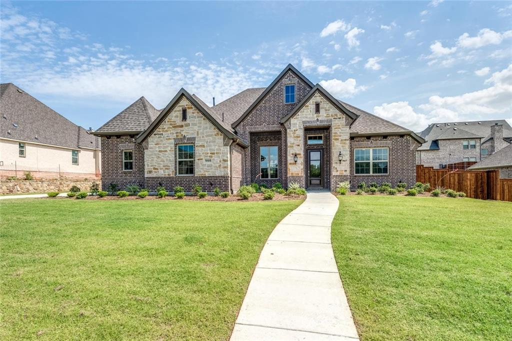 This luxury community offers oversized home sites with hike and bike trail, swimming pool and cabana. This beautiful home features wood floors, custom 42inch upper kitchen cabinets, granite, outdoor fireplace, walk in tile showers, custom framed vanity mirrors, 3 car garage, covered patio, and much more!
