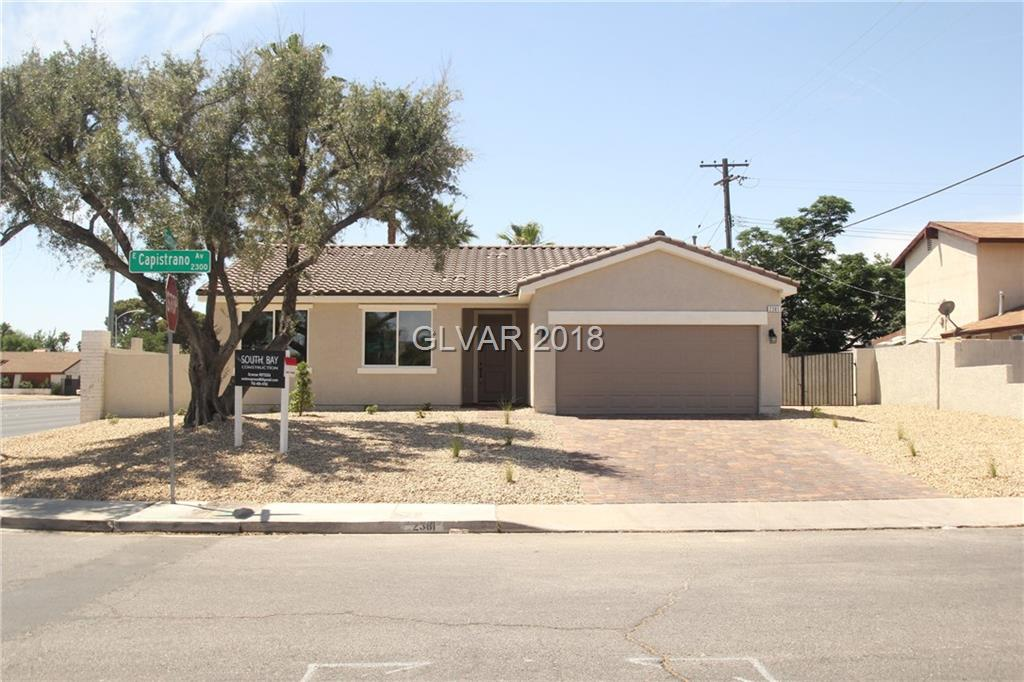 2381 CAPISTRANO Avenue, Las Vegas, NV 89169