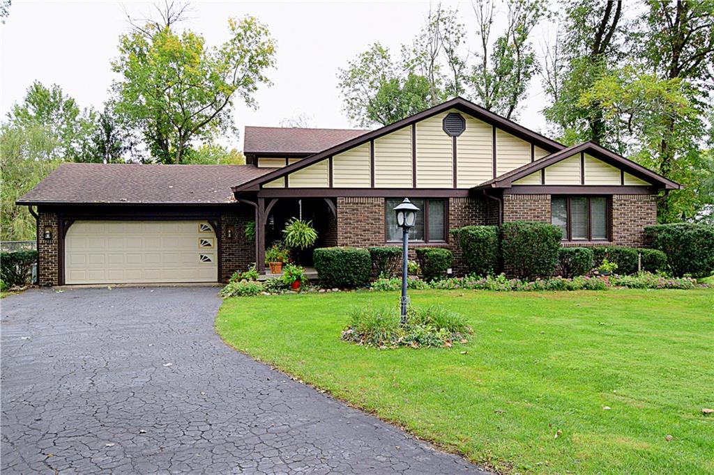 Enjoy the beautiful setting of this 4BR 2.5 BA spacious Trilevel home in popular Avalon Forest! Situated on a cul-de-sac lot. This open floor plan design offers a spacious great room with cathedral ceiling & exposed wood beams and opens up to the formal dining room.  Updated Kitchen w/ granite counter tops and breakfast room.  Cozy family room with Masonry wood burning fireplace and 4th bedroom, perfect for office, rec room, and inlaws quarters. Master suite offers WIC and private Bathroom. Beautiful mature trees through out the property with large storage barn for added storage! Furnace & A/C (2009), Water Htr (2012), Roof (2006), SS Kitchen Appliances and Granite Counter Tops (2011)
