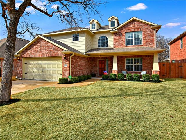 This is your perfect Cedar Park home. It has the master on the main level, a beautiful kitchen with granite, a formal dining room, a breakfast area, a game room, and 3 bedrooms upstairs. There is a cute kid's hideaway in the bedroom! The backyard is the perfect size with no neighbors behind and a covered patio and shed. Wonderful neighborhood with great schools and a community pool.