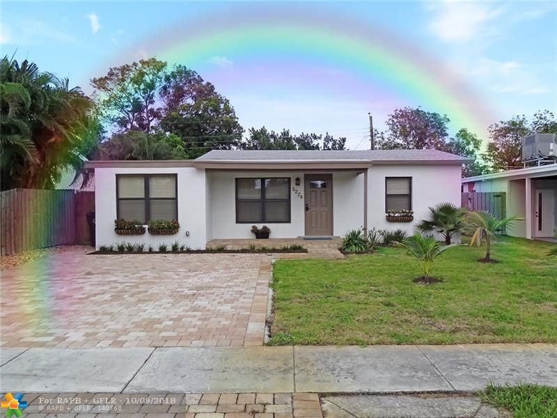 Fully remodeled 3 bedroom 2 bathroom home with IMPACT WINDOWS AND DOORS, new roof, interior laundry room, polished terrazzo flooring, new kitchen with stainless steel appliances, new cabinets & solid surface countertops. Formal dining room. New paved driveway, porch & rear patio. Fully fenced oversized backyard with lots of privacy. New well water sprinkler system. HOME BEING OFFERED FULLY FURNISHED WITH ALL FURNITURE, ELECTRONICS AND HOUSEHOLD ITEMS. Seller Financing Available.