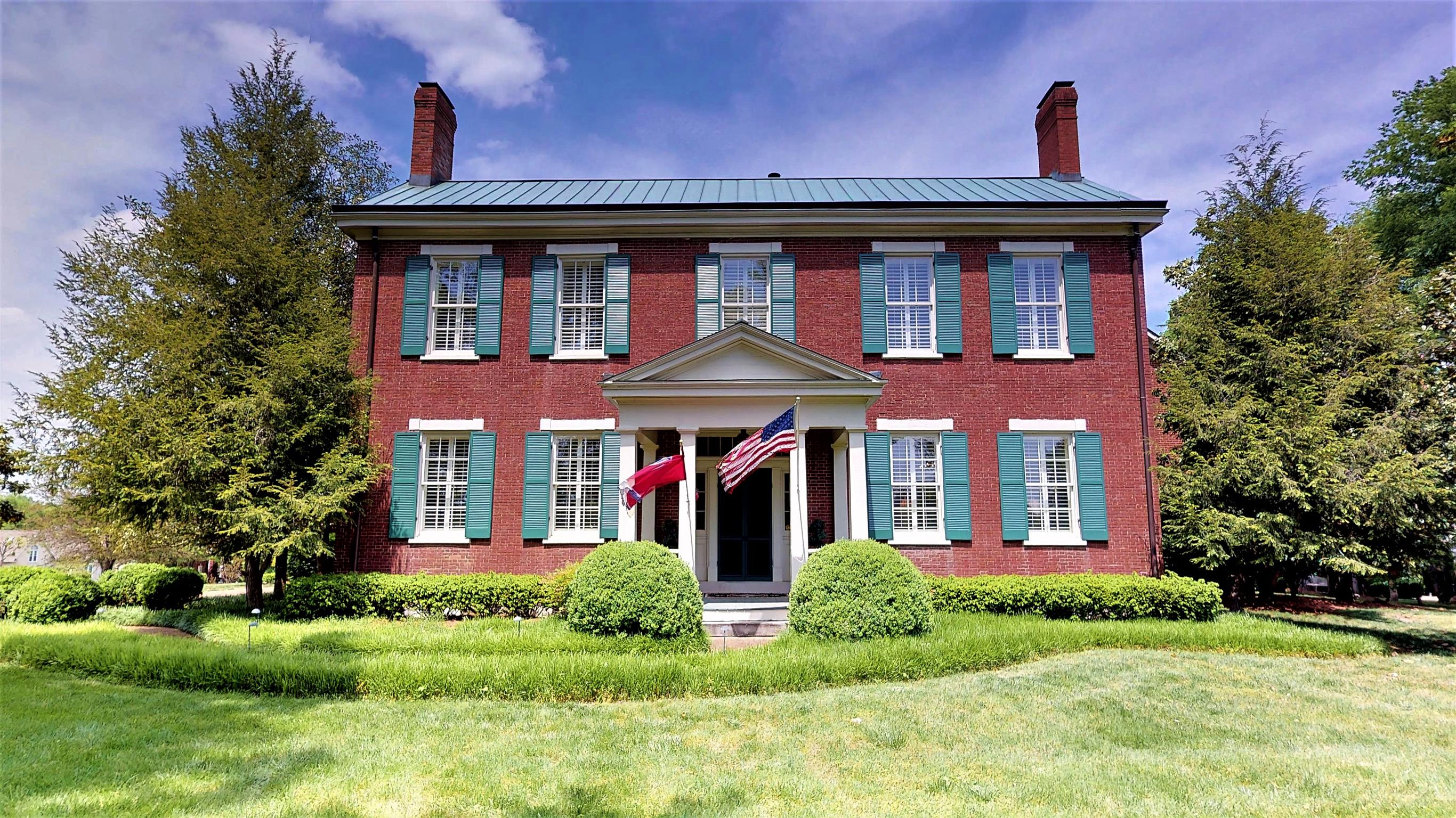 This beautiful historic antebellum home features 2 new HVACS, 3 new water heaters, copper roof, hardwoods throughout, cherry cabinetry, 12' ceilings, HUGE catering kitchen with SS dacor appliances, private courtyard (unaccessible from the outside), 9 fireplaces, plantation shutters, 6' stain glass window and MUCH more! Too much to list!