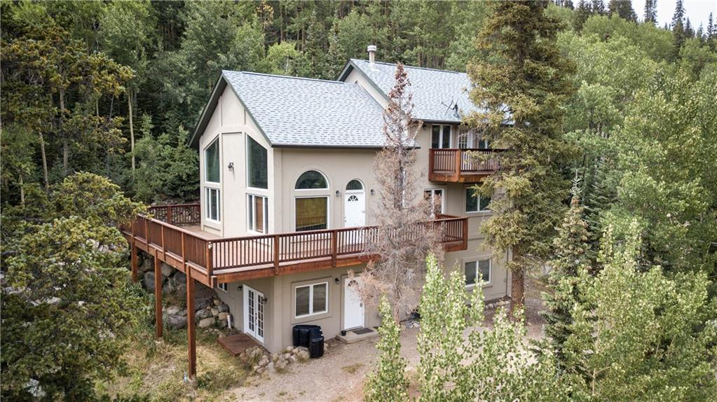 Oversized 3+ car detached garage plus a 2,820 sq. ft single family home in Placer Valley! With 3 bedrooms and 3 baths on 1.47 acres, this is the opportunity in Placer Valley you have been looking for! Immersed in an aspen grove with views of the valley and Continental Divide. Exterior and decking were refinished in July.