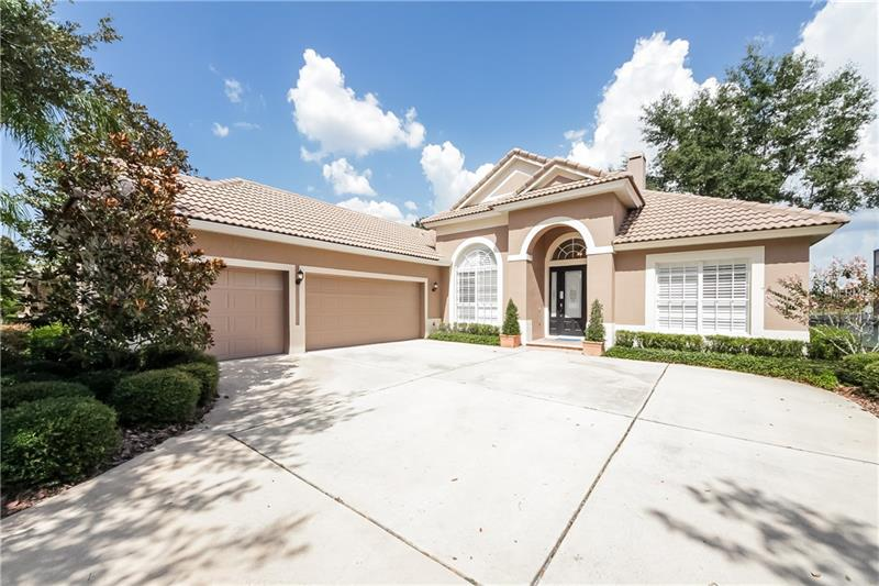 Built in 2001, this Lake Mary one-story is located in a well-kept neighborhood and offers hardwood flooring, a fireplace, and a three-car garage. Upgraded features include fresh interior paint. Community events and a community park are part of the HOA. Home comes with a 30-day buyback guarantee. Terms and conditions apply.