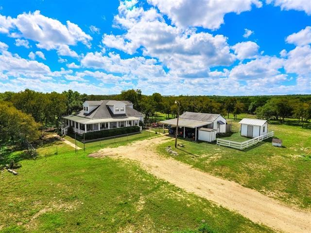 Beautiful, private and secluded ranch home on 19+AC in Florence! Conveniently located within minutes to Hwy 183, I-35, Twin Springs Preserve, Sawyer Park, Cedar Breaks Park and much more. The main house has 3 beds, 3.5 baths, fenced in yard, plus a wrap around porch. Guest house has 1 bed, 1 bath and kitchenette. This property also features; strong water well, barn, corral, storage, RV storage, and a chicken coop. Wait there's more..plus an elevated hunting blind, excellent for hunting; dove, deer...