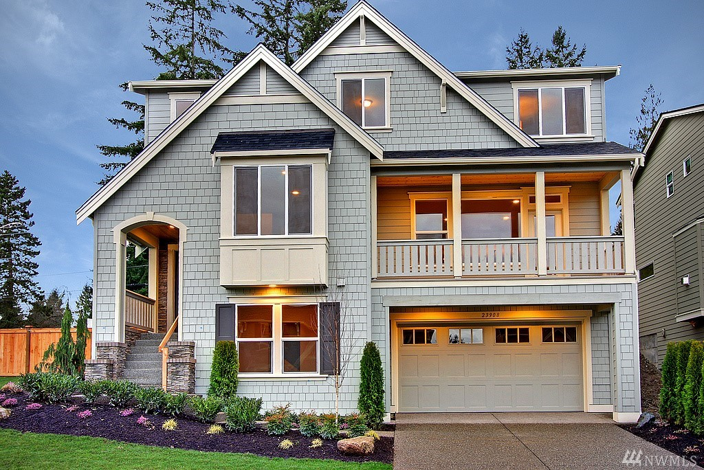 Nestled in on of Redmond's finest communities, Village Life welcomes you to their newest neighborhood of Hillbrooke Crest. The Wiley floor plan sits perched up with peek a boo mountain views and embraces high-end living through custom finishes and a floor plan that fits all. The craftsmanship architecture mixes modern elements with timeless beauty to create your next 'forever' home. Enjoy year-round living with a covered front deck! Completion date Nov 2018.