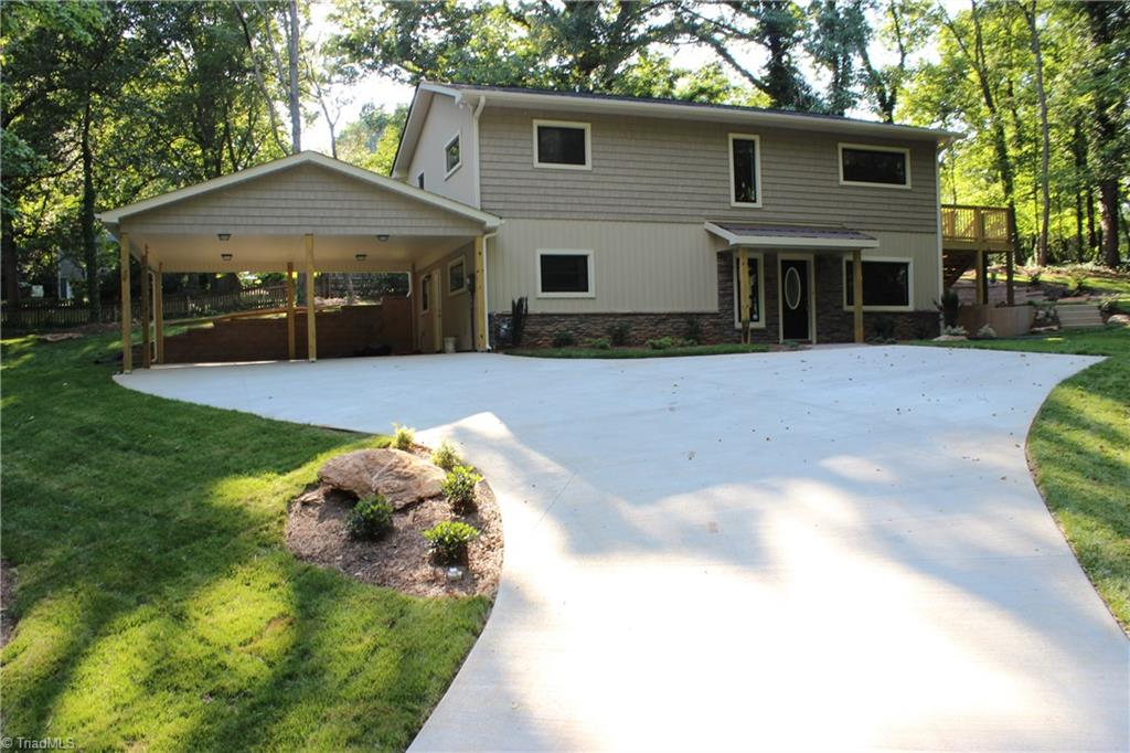 Beautifully remodeled home in Ardmore.  Nothing left untouched from HVAC to Insulation.  Brand new kitchen and baths with Granite throughout.  Beautiful life proof luxury vinyl plank flooring in kitchen, dining and living rooms.  Enormous master suite with free standing soaker tub and separate shower with private deck overlooking well landscaped round paver patio for entertaining.  New two car carport and new concrete drive with turn around.  To much to list, come see it today!