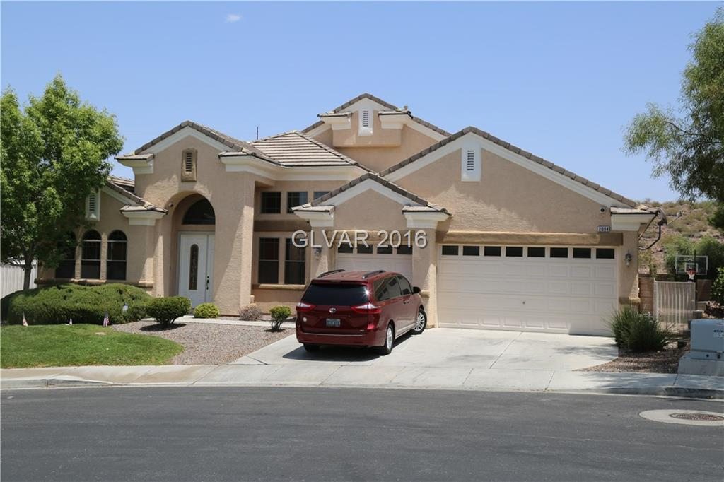 Single Story backing to desert mountains, oversized back yard with amazing rock pool with slide. Granite counters, tile floors, 10-15 high ceilings, 3 car garage, largest floor plan in the area.  Spacious floor plan w/large kitchen open to family room. 2-tone paint,fireplace, 20in tile, upgraded light fixtures & baseboards, custom cabinets, butlers pantry and guest suite. Oversized private yard w/pool & spa