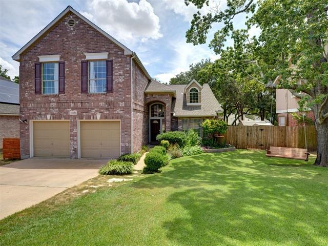 This wonderful NW Austin home lives large! Beautifully updated kitchen has custom home feel- not cookie-cutter. Great floorplan with master down, gameroom/loft and 3 good size bedrooms up. Backyard with outdoor living space has two fenced off side yards- good for dog runs or garden! Award-winning Round Rock Schools – very close to desirable Pond Springs Elementary. Easy access to community pool (for small fee), 183/Parmer Tech corridors, shopping, restaurants and major employers!