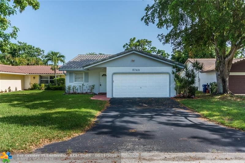 Coral Springs Real Estate 8749 Nw 21st Ct Fl 33071 319900