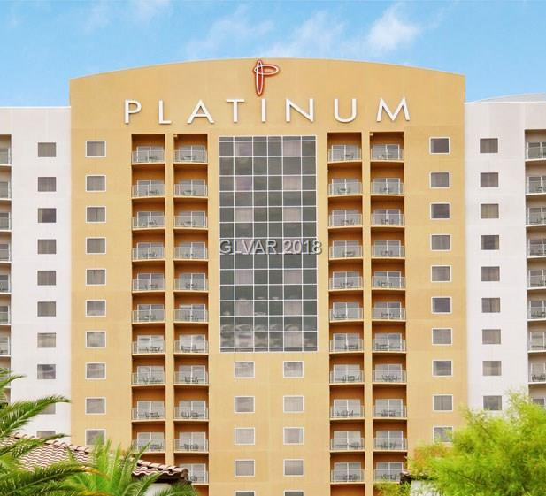 The Platinum is a Luxury Condo Hotel located seconds from the Las Vegas Strip.  This is a premium top floor unit with amazing VIEWS!!  Full kitchen, balcony, and open living area / large master bathroom and master bedroom / washer and dryer.  Live liker you're on a permanent vacation...Call Harvard for more info and availability.