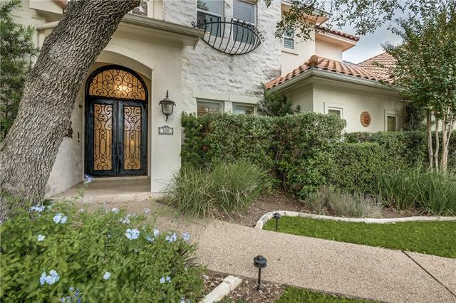 Custom Mediterranean estate home on beautiful, 1-acre, wooded, corner cul-de-sac Lot in a private gated retreat on the south shore of Lake Travis!  Gourmet granite island kitchen w/ professional Thermador cook-top, stainless appliances * wet bar * wine room (stained glass door)!  Media & Game UP * 4th BD down OR Study * 2 deck levels & private back yard (Perfect space for pool) * Over sized, side-entry 4 car garage * Private 19-acre waterfront park * Hike/bike trails, sport courts & 3 day-docks!