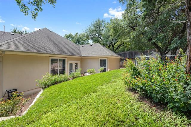 Reduced! Charming one story three bedroom home 7 minutes to Downtown or the Domain.  Extra storage in the garage. Clean and fresh, newer construction. All stone exterior with wood and tile floors throughout the interior. Just a right hand turn on to 2222 and approximately one mile to mopac.