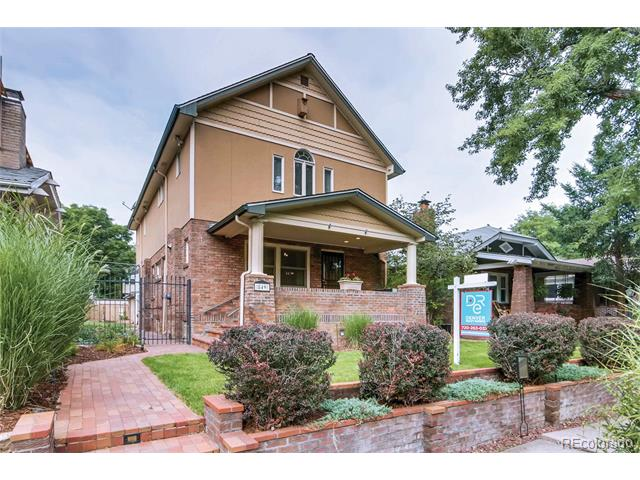 This image is a property in 849 Garfield Street Congress Park Denver CO