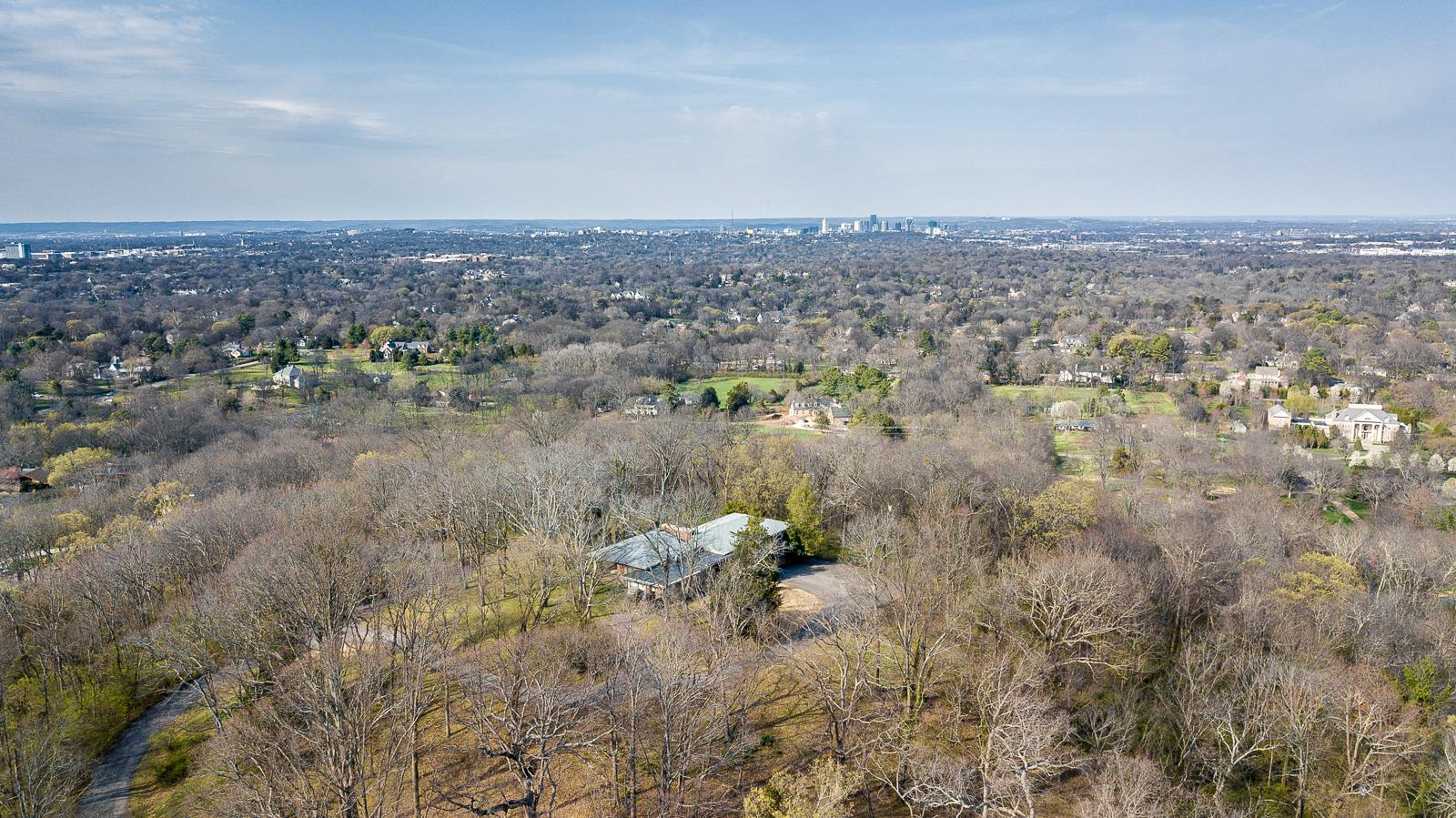 Downtown views!!! Property includes address 939 Tyne Blvd making a total of  almost 17 acres. Once in a lifetime opportunity to own an in town estate property like this one. House on property not available for viewing.