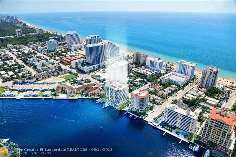 Experience breathtaking panoramic views of the Intracoastal waterway, Atlantic Ocean & Downtown Fort Lauderdale skyline. Ideally situated on the East side of the Intracoastal Waterway. All of 321 at Water's Edge's 23 luxurious residences feature breathtaking views, high-end designer finishes, expansive floor plans and outdoor living spaces.  Valet/concierge 24/7. Boat slips up to 70 ft. available. Currently under construction and estimated completion is Spring 2019.