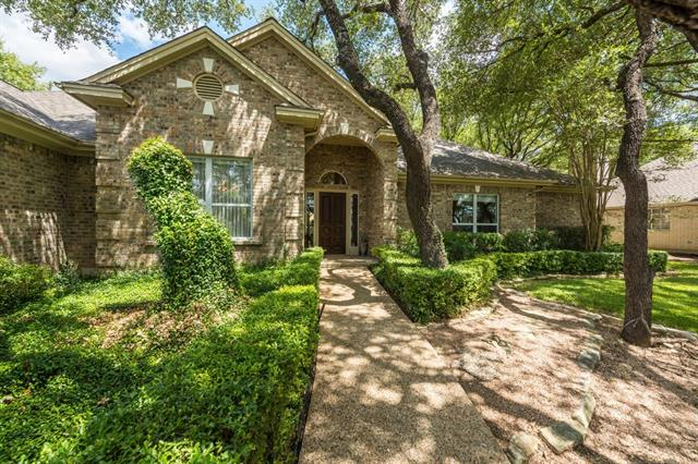Highly coveted and hard to find ONE STORY, original owner home on the 9th hole of Yaupon Golf course with 4 bedrooms, 3 1/2 baths and a 3 car garage!  The Master Bedroom is flanked by 2 full baths; one with shower only, and a huge master closet.  Enjoy a formal living and spacious family room with fireplace.  The covered patio off the family room affords a view of the Golf Course through the trees allowing for privacy.  Fabulous street appeal with  front lawn adorned with mature oak trees and landscaping