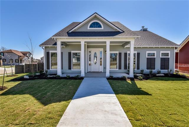 """A meticulously designed """"1890's American Farmhouse"""" that includes solid wood exterior shutter details, exposed rafter tails, natural soap-stone counters, a porcelain apron sink, reclaimed painted brick fireplace w/ hearth, hand blown glass cabinet knobs & many countless details only found in custom built homes. 3 bedrooms, 3 full baths + large study! Home boasts of engineered hardwood flooring, Jenn Air SS appliances, chrome pot-filler, white wood ceilings, floating kitchen shelves & a detached garage."""