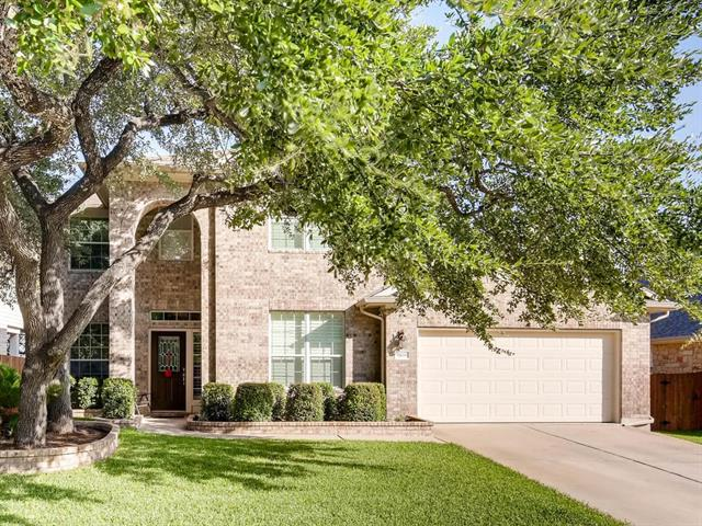 Immaculate 4 bed 3.5 bath (one en suite) home in Deer Creek Ranch offers tons of special touches. Lot has lush lawn with mature trees and backs to elementary school.  Upgrades include plantation shutters throughout, crown molding, granite counters, wainscoting, hardwood floors, custom built-in entertainment center, and a spacious back patio. New fence just added.  With 3 living areas this is a great home for entertaining.  Don't miss out!