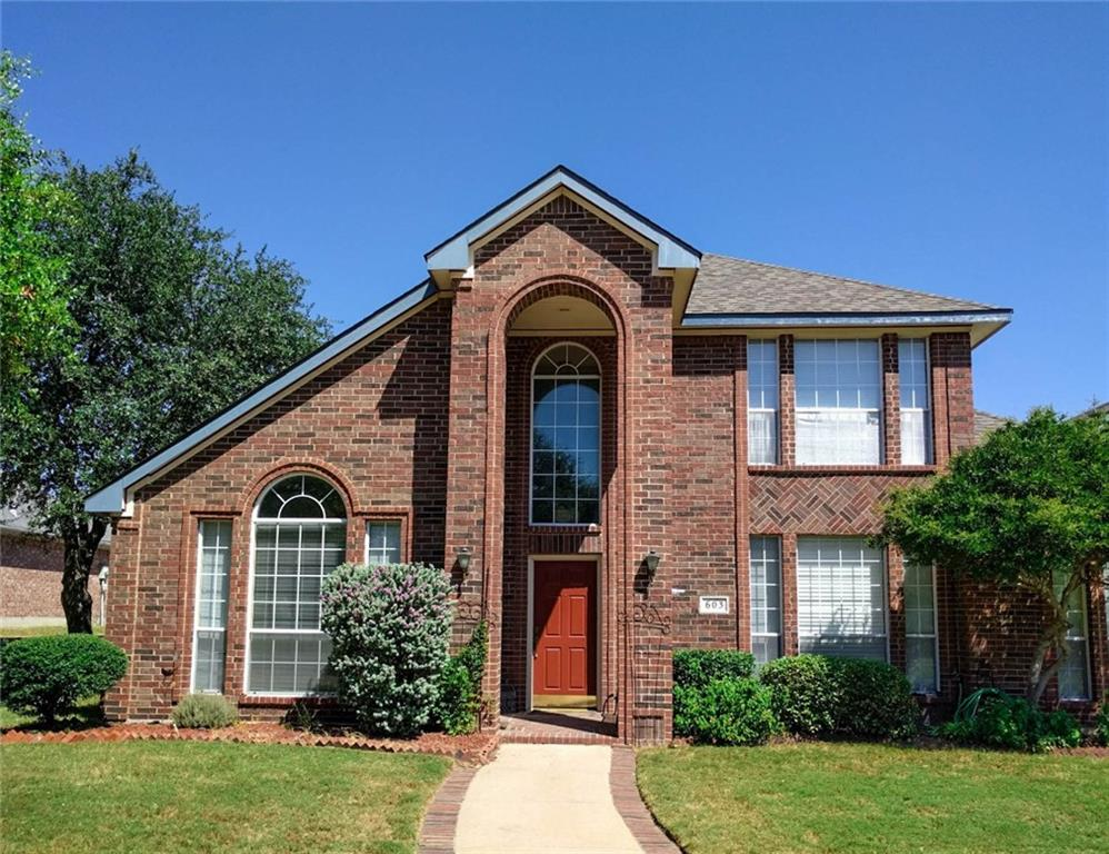 603 Rockcrossing Lane, Allen, TX 75002