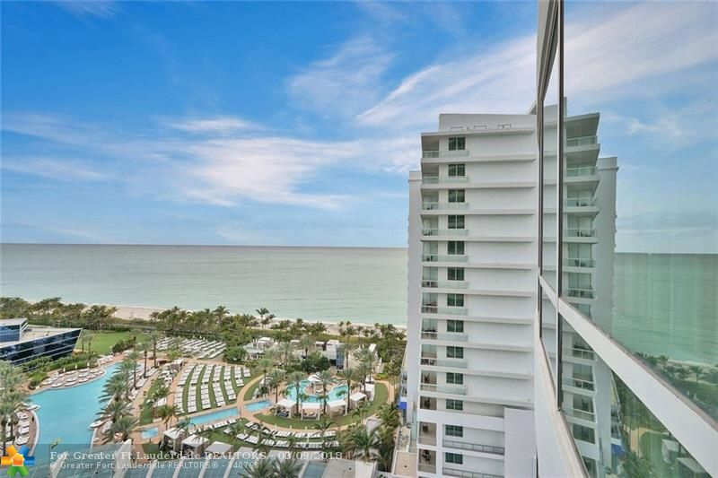 Stunning private suite with 2 BR/3BA at the Fontainebleau II. Best line in the building. Direct ocean view off main balcony. Vacation-style living in this fully furnished turnkey apartment. The Fontainebleau is a 22-acre, oceanfront, 5 star resort with top of the line amenities. 12 restaurants and bars, LIV night club. Monthly maint fees include: electric, basic cable, valet, Lapis spa & fitness center. Free breakfast in owner's lounge. Option to enroll in hotel rental program & earn rental income.