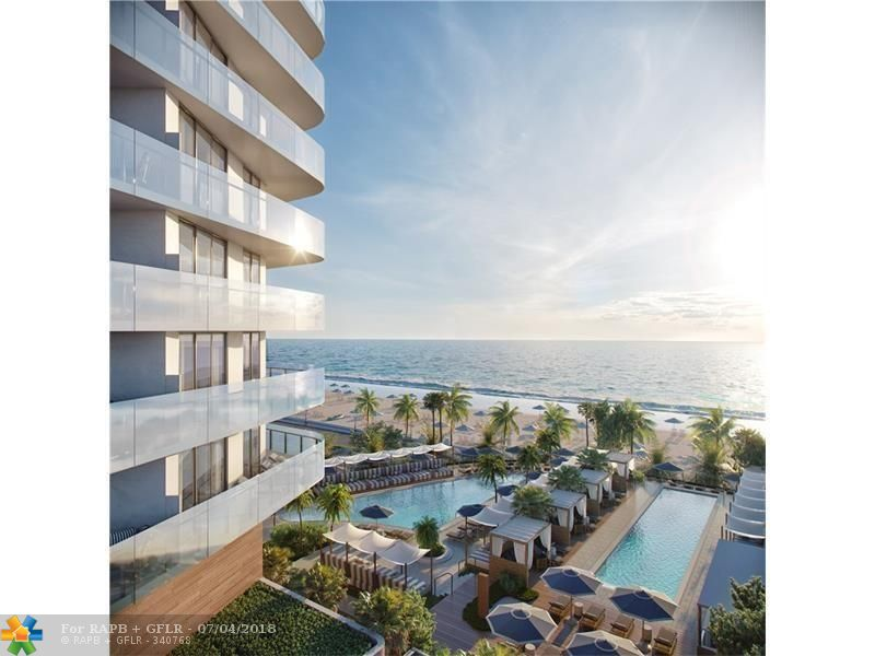 Four Seasons Private Residences overlooking our two signature pools, cabana's and the Atlantic Ocean. A full service Five Star premier building offering our award winning Four Seasons fitness center and spa, 24 hour valet and room service.  Owners at the Four Seasons Residence Fort Lauderdale will become preferred guests of the Fort portfolio of Four Seasons properties.  Sales Gallery open daily.