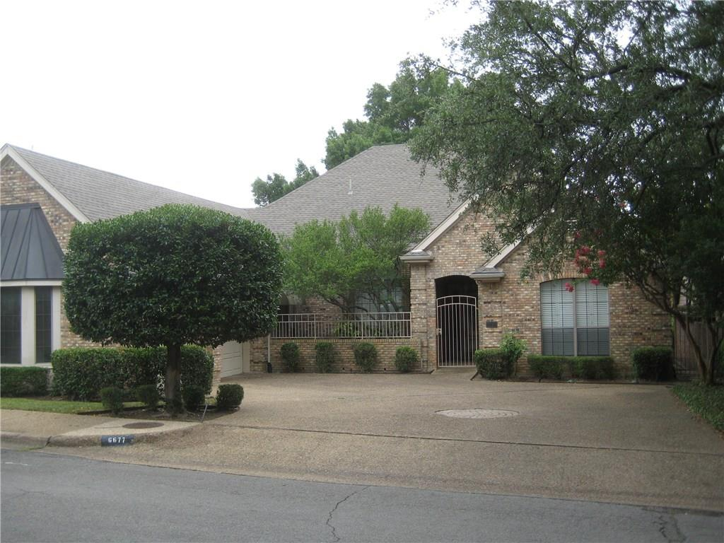 Fantastic investment opportunity surrounded by multi-million dollar properties. Bring your decorator and turn this magnificent Preston Hollow home into a spectacular showplace. Widower husband has decided that the home is just too big for him to live in alone and has priced it way below market. The home was completely remodeled 23 years ago and it is time for a facelift. Being sold As-Is.